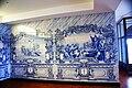 Igreja de Santa Bárbara (cedros), azulejos, aspectos, Cedros, concelho da Horta, ilha do Faial, Portugal.JPG