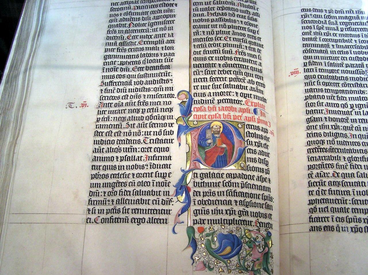 1407 Bible in Latin