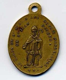 Guarinus of Sitten Benedictine monk and bishop