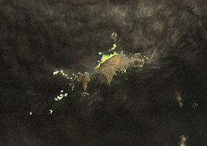 Îlots des Apôtres - Satellite Image of Îlots des Apôtres (NASA - Landsat)