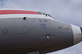 Ilyushin Il-18E Coot Czech Airlines OK-PAI RNose SATM 05June2013 (14600057672).jpg
