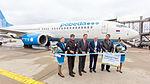 Inaugural flight Pobeda DP820 - Cologne Bonn - Moscow-Vnukovo 2016-7145.jpg