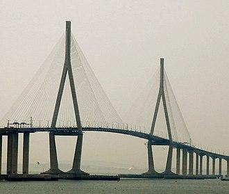 Incheon Bridge - Image: Incheon bridge (12)