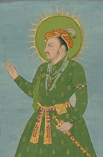 Indian - Single Leaf of a Portrait of the Emperor Jahangir - Walters W705 - Detail.jpg