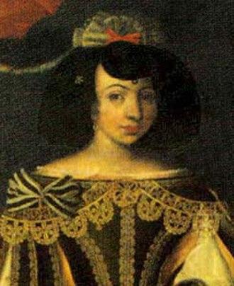 Joana, Princess of Beira - Image: Infanta D. Joana de Bragança