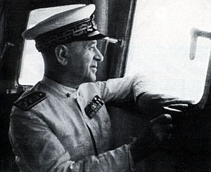 Inigo Campioni - Ammiraglio di Squadra Inigo Campioni in 1940