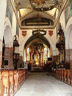 Inowrocław, kościół par. p.w. św. Mikołaja - wnętrze kościoła b