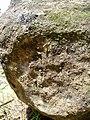 Inscripcio a una pedra dels megalits de Montargull.jpg