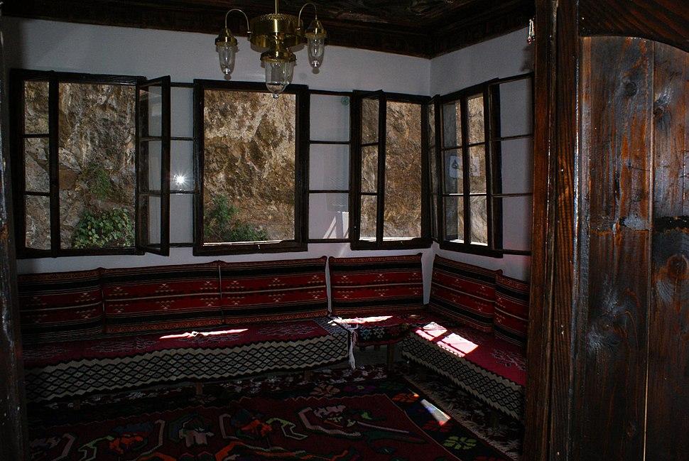 Inside Blagaj tekke