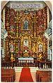 Interior, San Xavier Del Bac Mission, built 1692 near Tucson, Arizona (65314).jpg