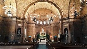 Basilica Shrine of St. Mary (Wilmington, North Carolina) - inside the basilica