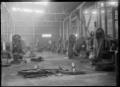 Interior view of the blacksmiths' shop at Hutt Railway Workshops, Woburn ATLIB 290274.png