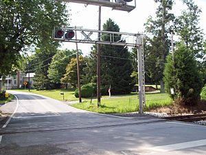 Millers, Maryland - Intersection, Millers Station Rd and Young Rd, Millers, Maryland