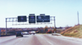 Interstate 70 West at Exit 234, Route 180 West, St. Charles Rock Rd exit (1989).png
