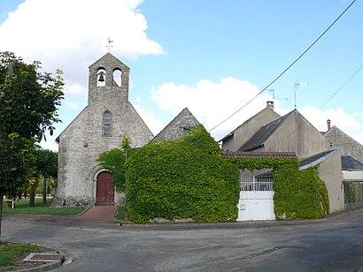 Comment aller à Intville-La-Guetard en transport en commun - A propos de cet endroit