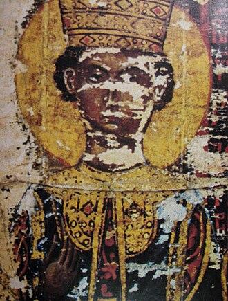 Irene Kantakouzene - Image: Irene Kantakouzene, Esphigmenou charter (1429)