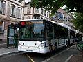 Irisbus Citelis 18 CNG - CTS Tomi Ungerer n°310 line 4 Les halles Pont de Paris.JPG
