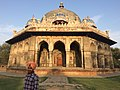 Isa Khan's tomb new delhi.jpg