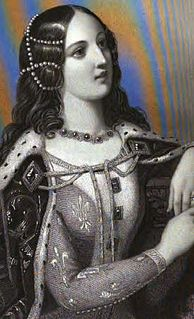 14th and 15th-century French princess and queen of England