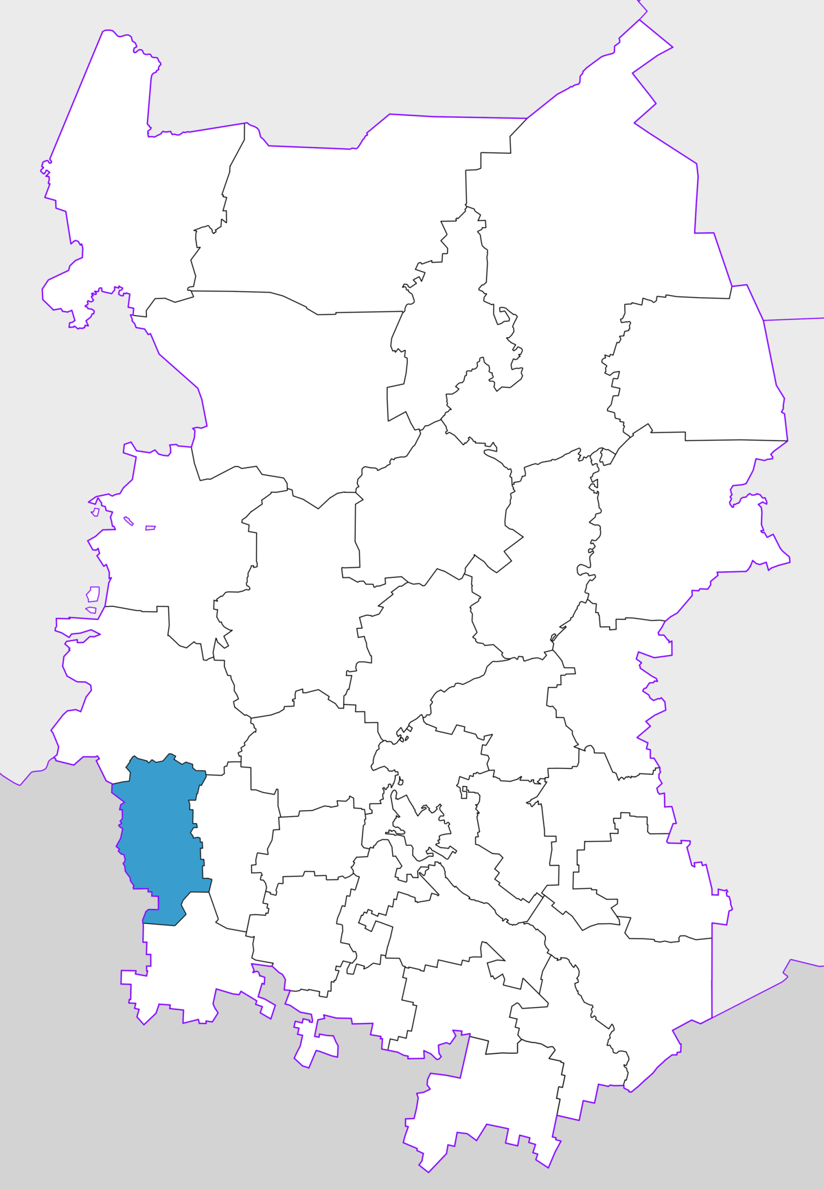 What is the federal district of Omsk, and where is it located 58