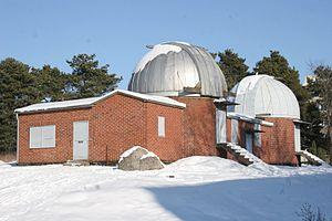 Iso-Heikkilä Observatory - Image: Iso Heikkilan tahtitorni talvi