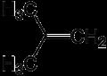 Isobutene struttura.PNG