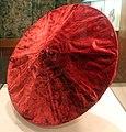 Italia, parasole in velluto rosso, venezia xvi secolo 01.jpg