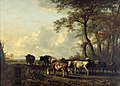 J.B. II Kobell - De ossendrift - B606 - Cultural Heritage Agency of the Netherlands Art Collection.jpg