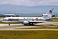JA8539 2 DC-10-40I JALways Resocha KIX 14JUL01 (5606007036).jpg