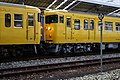 JRW 115 Kurashiki Station front car coupling 2020-01-21.jpg