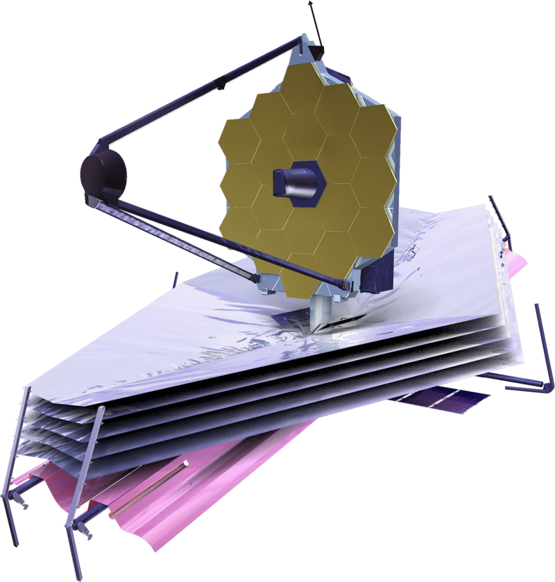 James Webb Space Telescope rendering