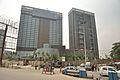 JW Marriott Hotel and Vivara Serviced Apartments Under Construction - Eastern Metropolitan Bypass - Kolkata 2016-08-25 6269.JPG