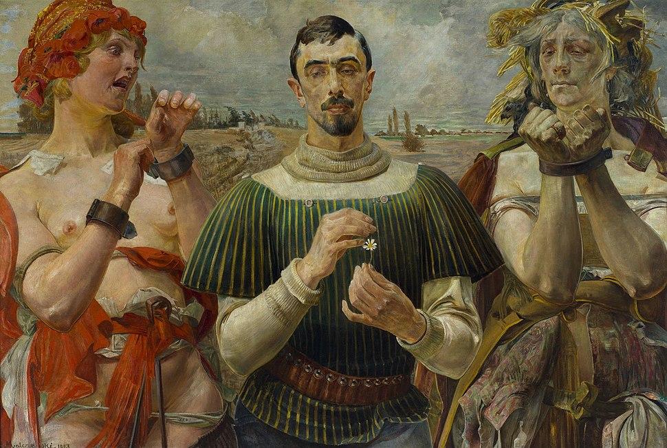 Jacek Malczewski - Polish Hamlet - Google Art Project