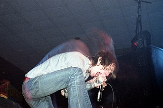 Converge (band) - Bannon performing at All Tomorrow's Parties UK, in 2004