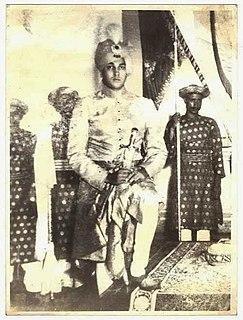 Jagaddipendra Narayan 24Th Maharaja of Cooch-Behar