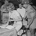 Jamboree 1963 te Marathon Griekenland Prinses Anne Marie verloofde prins Consta, Bestanddeelnr 915-4257.jpg