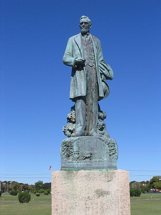 James A. Bradley - Statue at Bradley Park in Asbury Park, New Jersey