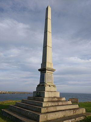 James Bremner - Image: James Bremner Monument