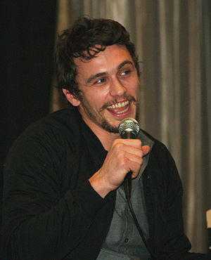 English: James Franco discussing the film Milk...