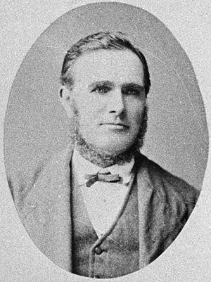 James Seaton (New Zealand politician) - Seaton in 1882