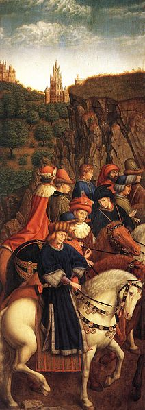 File:Jan van Eyck - The Ghent Altarpiece - The Just Judges - WGA07649.jpg