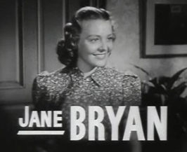 Bryan in Invisible Stripes (1939)