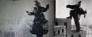 Wasei Kingu Kongu - Publicity photos of Isamu Yamaguchi as King Kong for Wasei Kingu Kongu