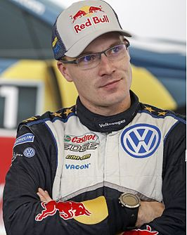 Latvala in 2015