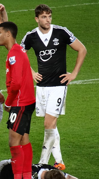 Jay Rodriguez - Rodriguez playing for Southampton in 2013