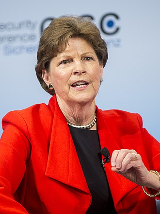 Jeanne Shaheen - Shaheen during the Munich Security Conference 2017