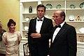 Jeb Bush and Columba Bush with President of Venezuela, Carlos Andres Perez.jpg