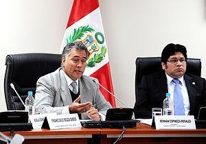 Francisco Boza - Image: Jefe del IPD en Comisión de Educación (6150111237)