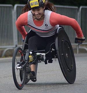 Jenna Fesemyer American wheelchair racer