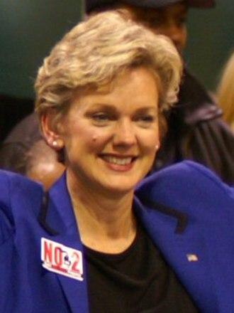 Michigan gubernatorial election, 2006 - Image: Jennifer Granholm 5